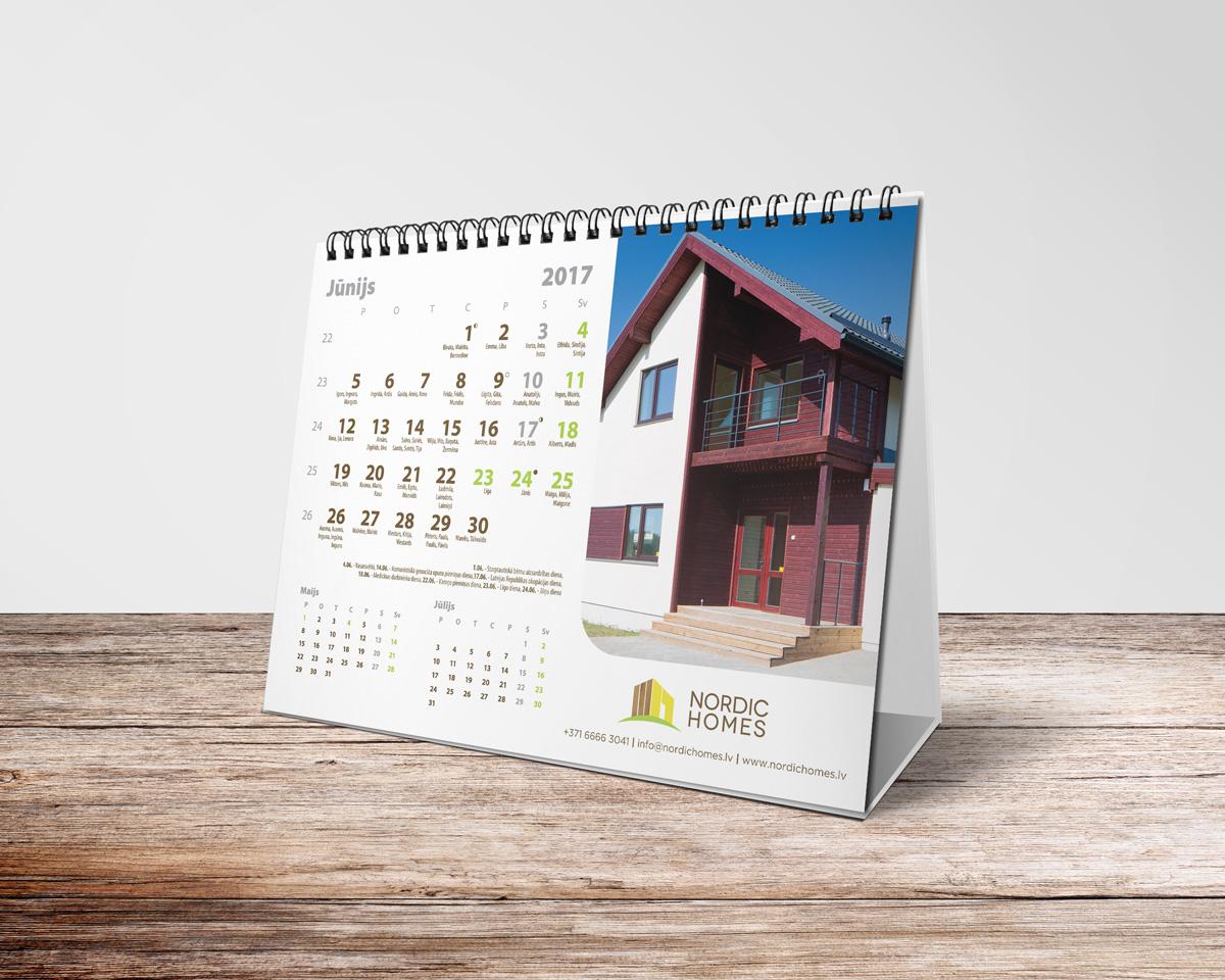Kalendāru izgatavošana paveiktais Paveiktais nordic homes 2017 preview